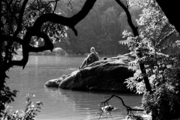Title: Tranquility Rock, Central Park