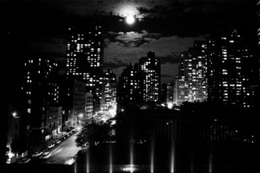 Title: Moon Over Manhattan