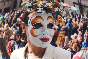The Mask (Street Performer)
