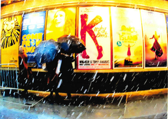 Broadway Posters in Storm (traditional)