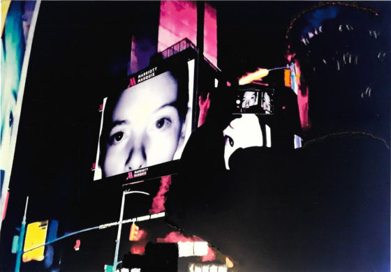 Photographing the Eyes of Times Square (traditional)